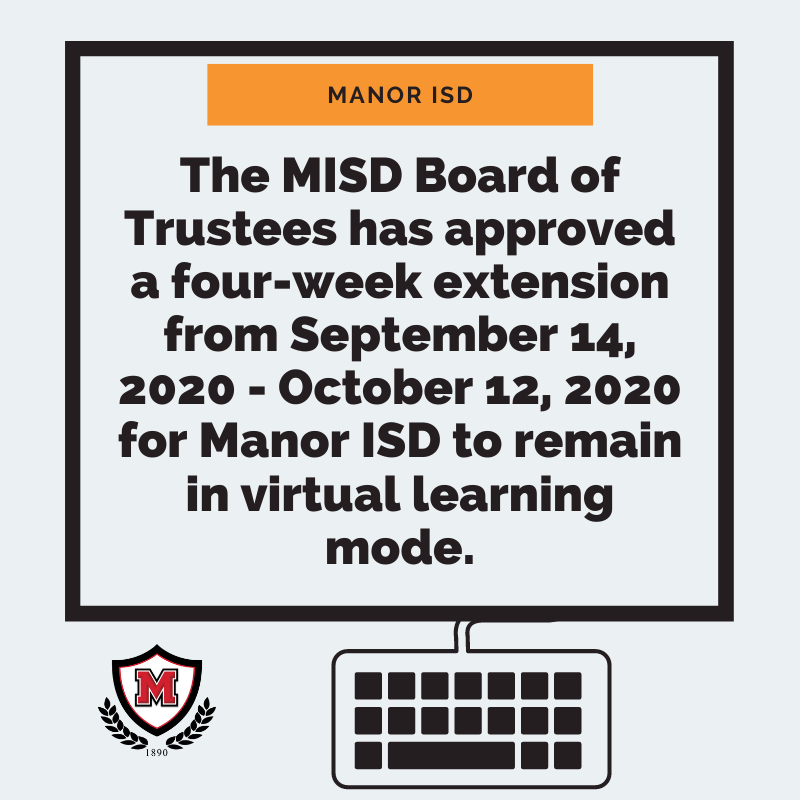 MISD Board of Trustees Extends Virtual Learning through October12th