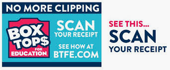 Box Tops can now be scanned on your receipt!
